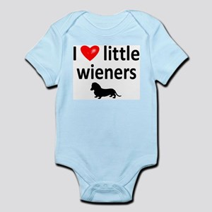 Love Little Wieners Infant Bodysuit