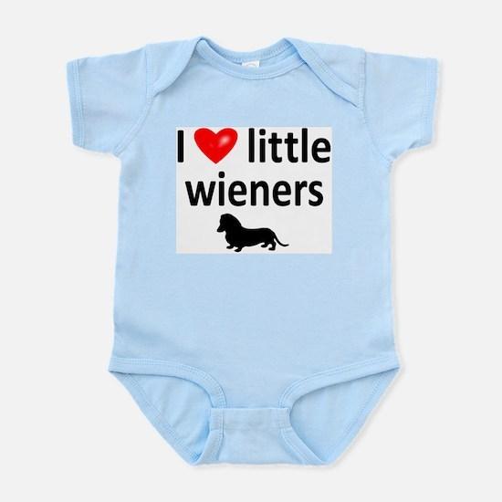 Love Little Wieners Infant Bodysuit