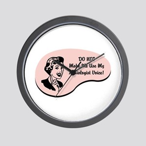 Audiologist Voice Wall Clock