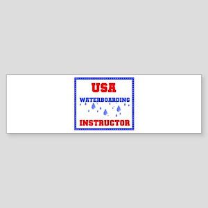 WATERBOARDING Bumper Sticker