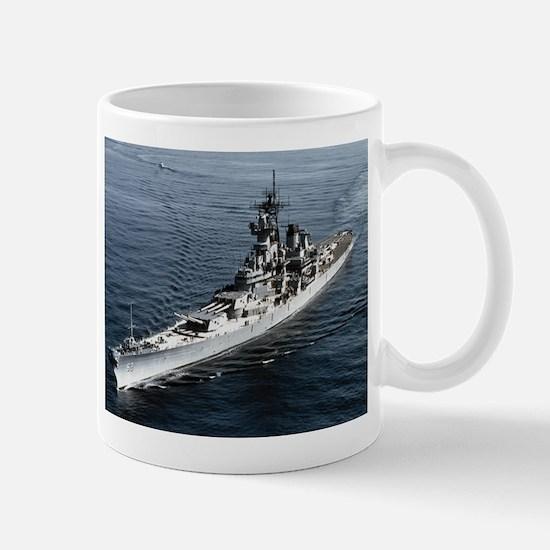 USS Missouri Ship's Image Mug
