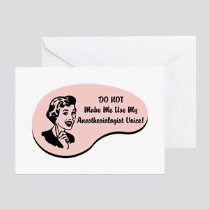 Anesthesiologist Greeting Cards Cafepress