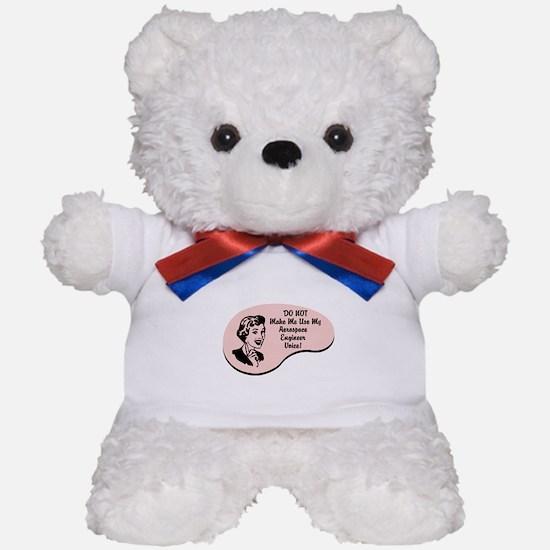 Aerospace Engineer Voice Teddy Bear