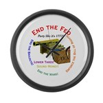 End the Fed Large Wall Clock