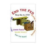End the Fed Mini Poster Print