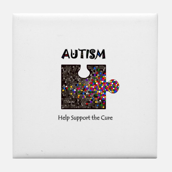 """""""Atuism Help Support the Cure Tile Coaster"""