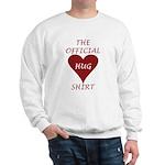 the Official Hug Sweatshirt