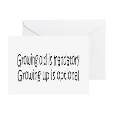 Growing Up... Greeting Card