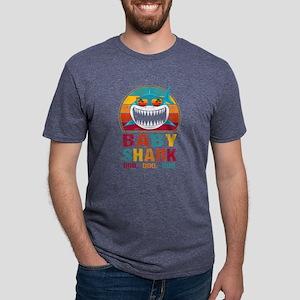 Retro Vintage Cute Baby Shark TShirt Funny T-Shirt