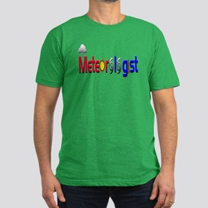 Meteorologist Men's Fitted T-Shirt (dark)