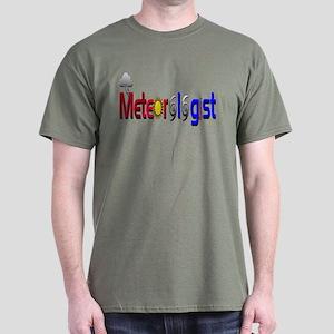 Meteorologist Dark T-Shirt