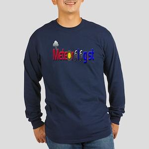 Meteorologist Long Sleeve Dark T-Shirt