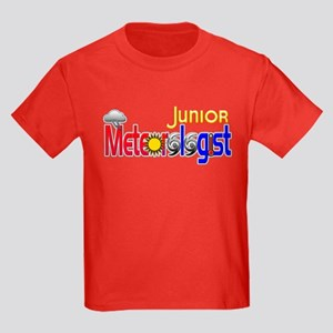 Junior Meteorologist Kids Dark T-Shirt
