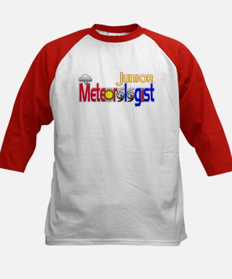 Junior Meteorologist Kids Baseball Jersey