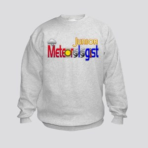 Junior Meteorologist Kids Sweatshirt
