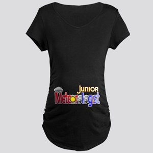 Junior Meteorologist Maternity Dark T-Shirt