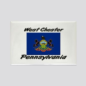 West Chester Pennsylvania Rectangle Magnet