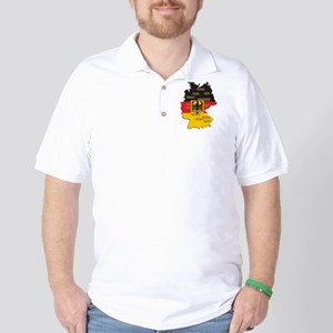 Germany Map Golf Shirt