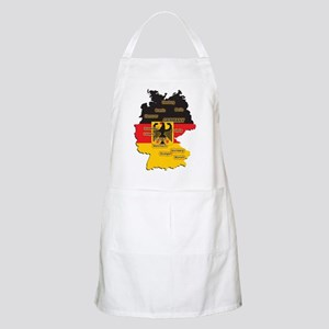 Germany Map BBQ Apron