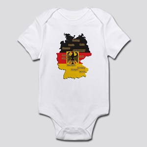 Germany Map Infant Bodysuit