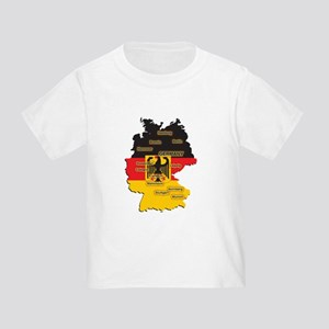 Germany Map Toddler T-Shirt