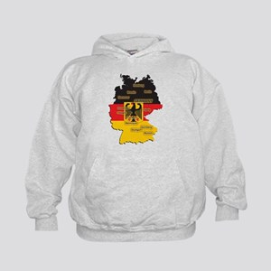 Germany Map Kids Hoodie