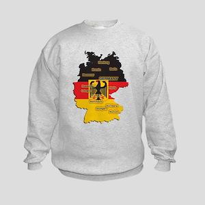 Germany Map Kids Sweatshirt