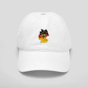 Germany Map Cap