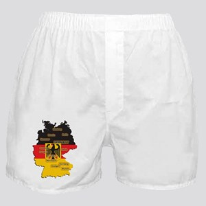 Germany Map Boxer Shorts