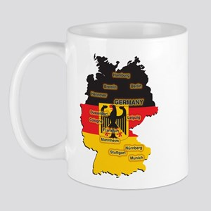 Germany Map Mug