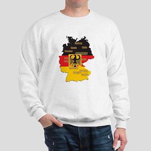 Germany Map Sweatshirt