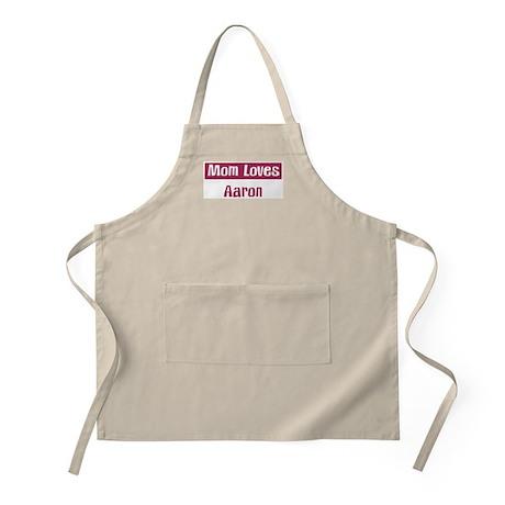 Mom Loves Aaron BBQ Apron