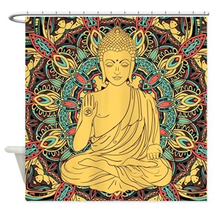 Buddha Shower Curtains