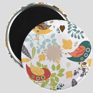 Woodland Birds Magnet