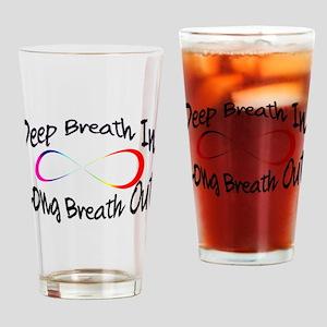 Infinite breath Drinking Glass