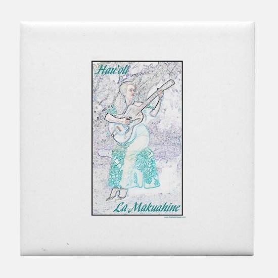 Wahine Ki Ho`alu Tile Coaster