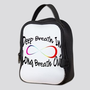 Infinite breath Neoprene Lunch Bag