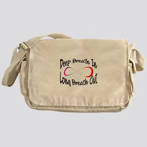Infinite breath Messenger Bag