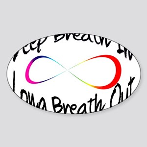 Infinite breath Sticker