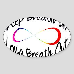 Infinite breath Sticker