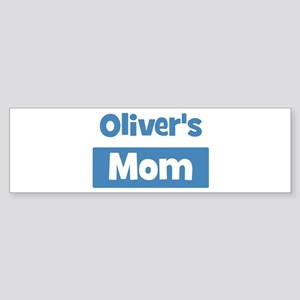 Olivers Mom Bumper Sticker
