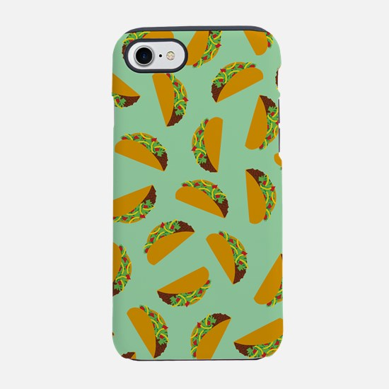 Taco Pattern iPhone 7 Tough Case