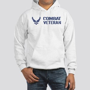 USAF: Combat Veteran Hooded Sweatshirt
