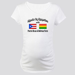 Puerto Rican-Bolivian Maternity T-Shirt