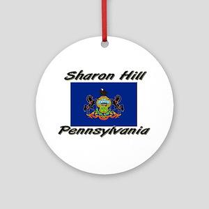 Sharon Hill Pennsylvania Ornament (Round)