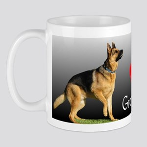 I love Grandpa German Shepherd Mug