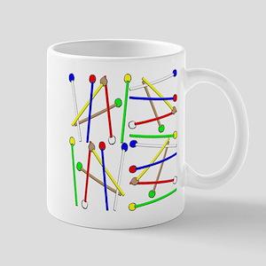 Rainbow Mallets Mugs
