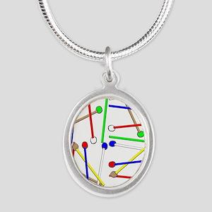 Rainbow Mallets Necklaces