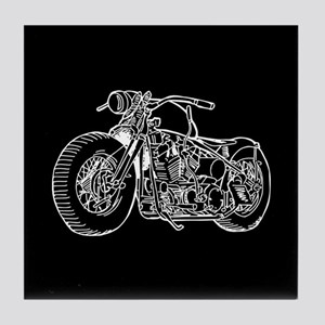 Motorcycle Tile Coaster