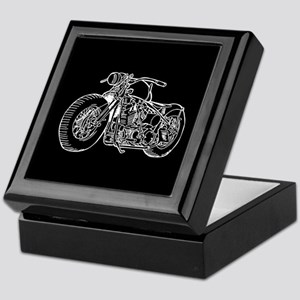 Motorcycle Keepsake Box